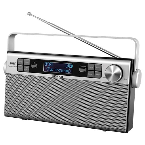 SRD 6600 Radio digital DAB+