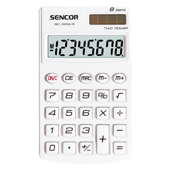 SEC 220W/8 Calculator de mână