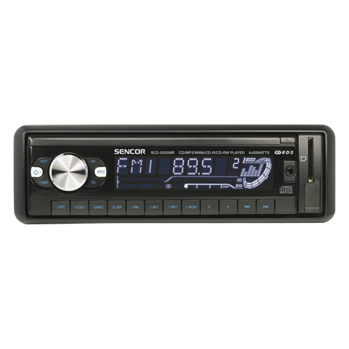 SCD 5035MR Car Radio with CD/MP3/USB
