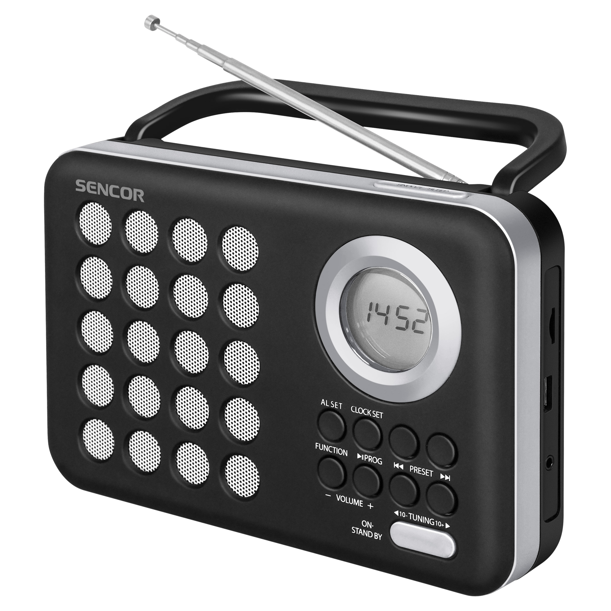 SRD 220 BS Radio FM digital