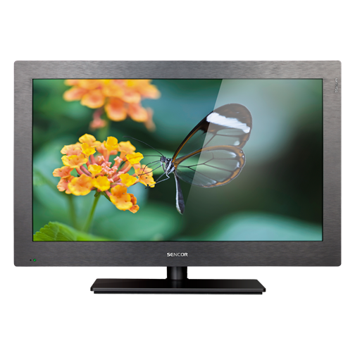 SLE 3250T titanium LCD Television with LED Backlight
