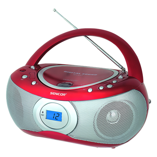 SPT 221 R Radio portabil cu  CD/MP3 Player