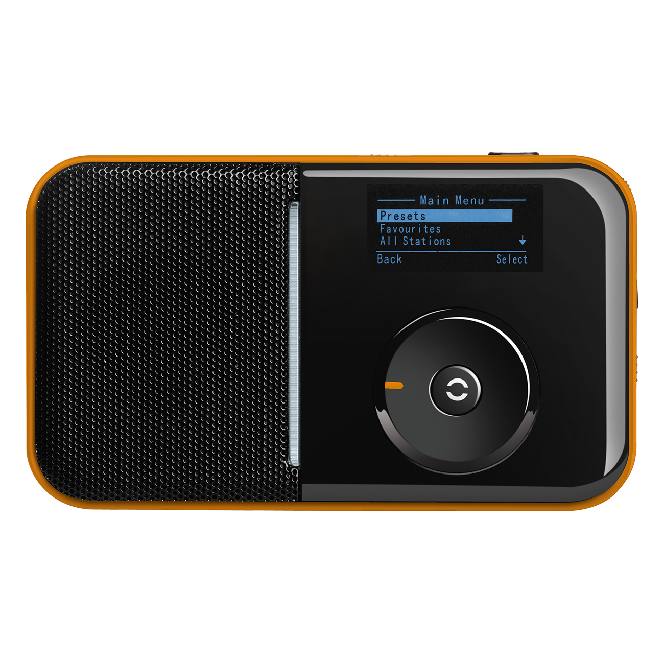 SIR 007 ORANGE Radio portabil-receptor-internet -wifi