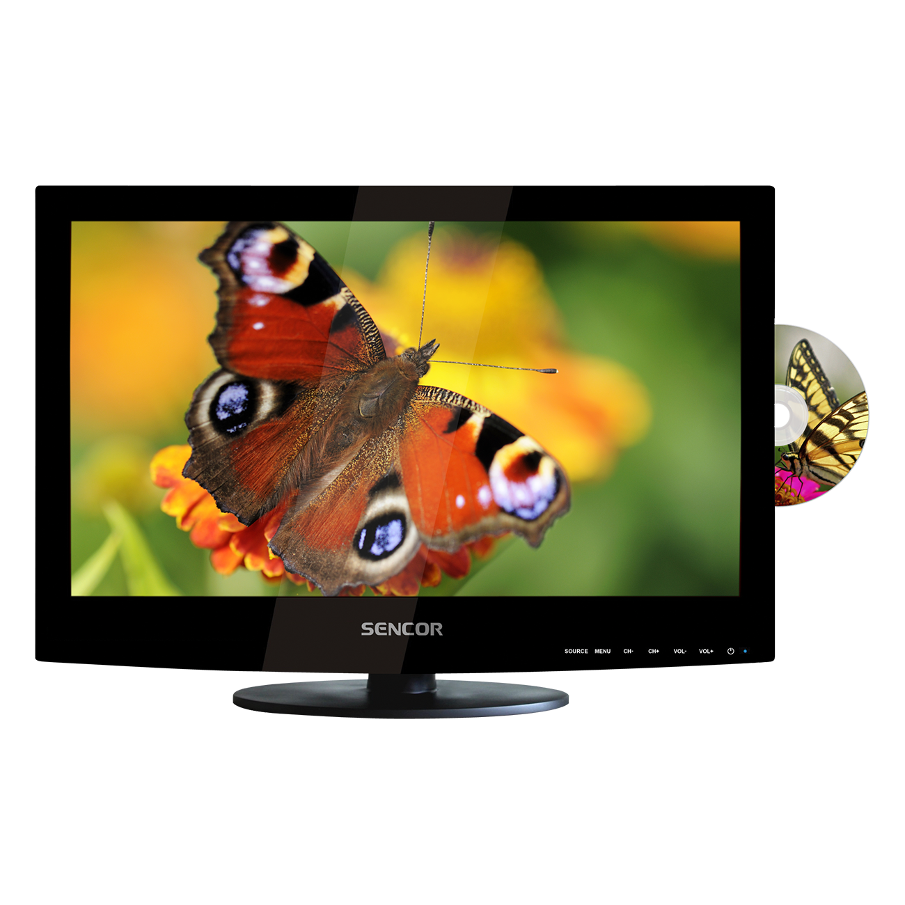 SLE 2443D Full HD LED LCD TV cu DVD