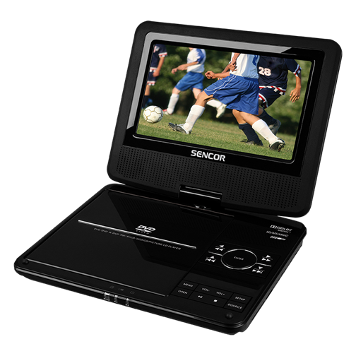 SPV 2716 DVD player portabil