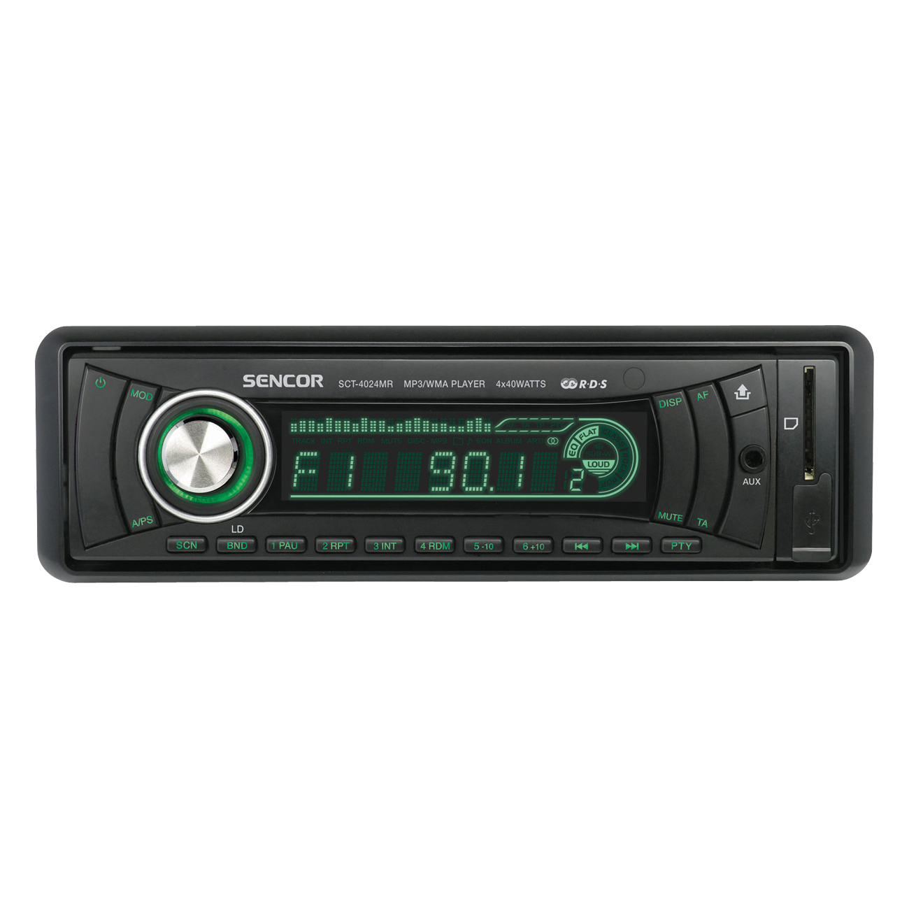 SCT 4024MR Radio auto cu USB/SD/MMC