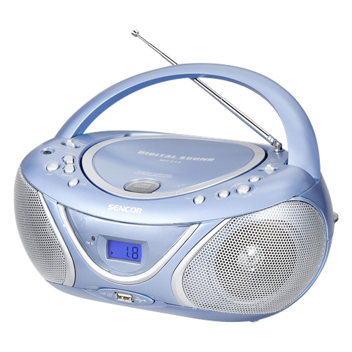 SPT 222 BU Radio portabil cu  CD/MP3 Player