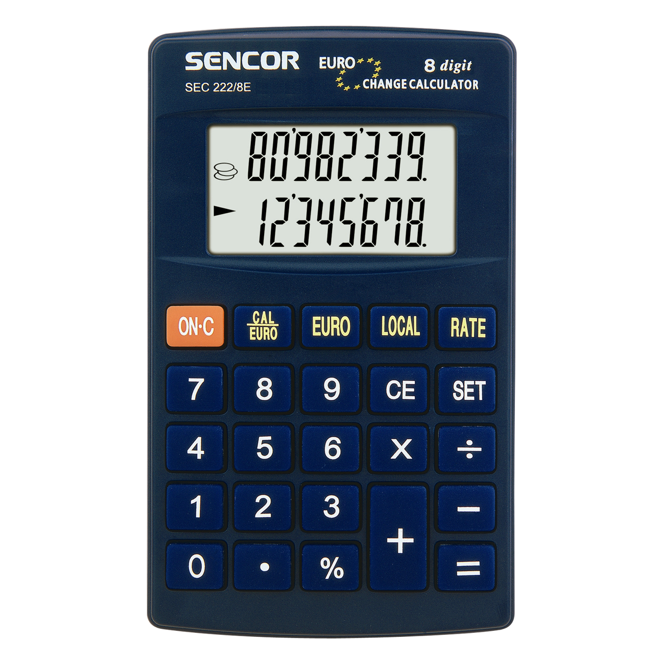 SEC 222/8E Calculator de mână