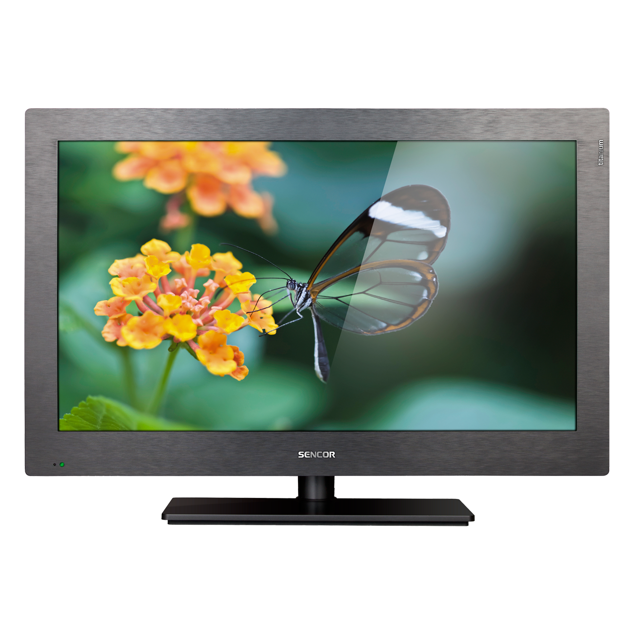 SLE 2651M4 titanium LCD Television with LED Backlight