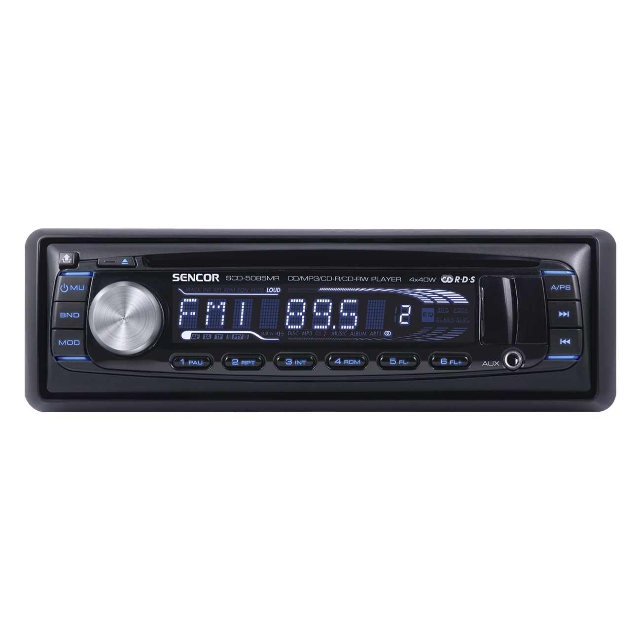 SCD 5085MR Radio auto cu  USB/SD/MMC