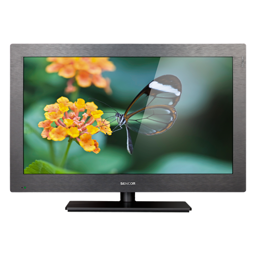 SLE 1950T titanium LED LCD TV