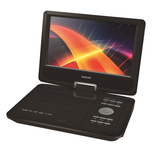 SPV 7912T Portable DVD Player with DVB-T