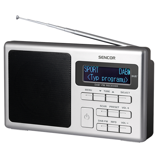 SRD 6400 Radio digital DAB+ / FM-PLL
