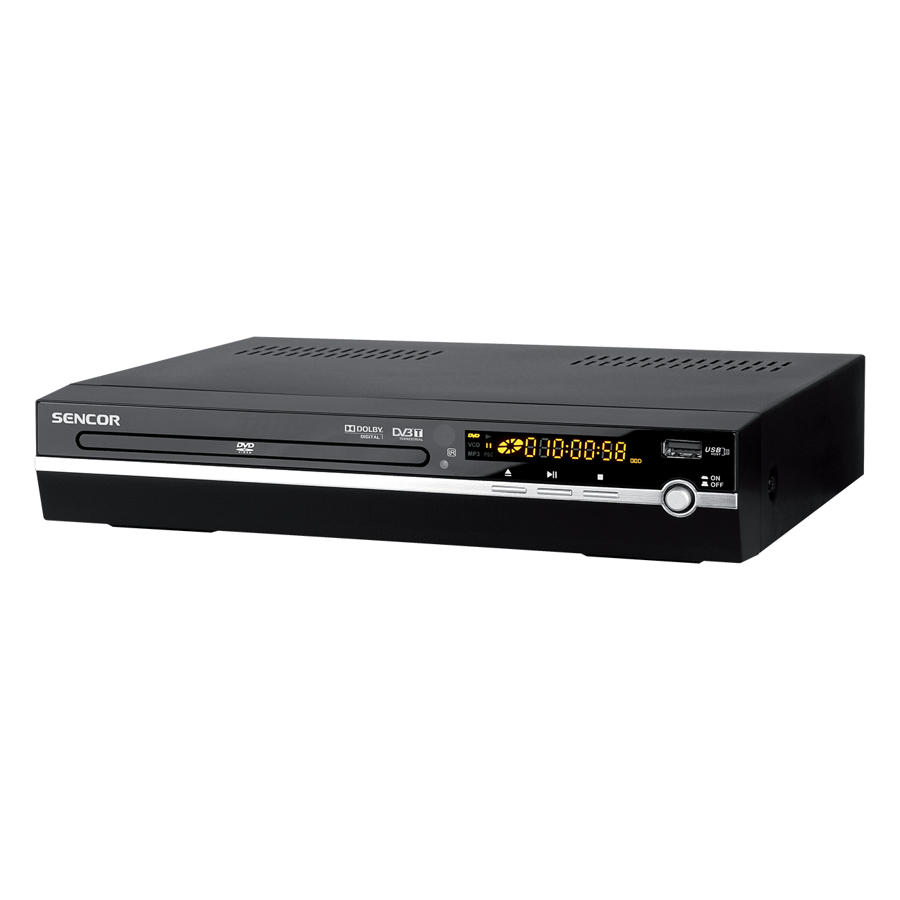 SDV 8701T DVD/DivX Player cu DVB-T